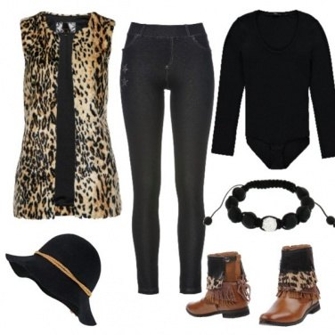Outfit Tiger famme