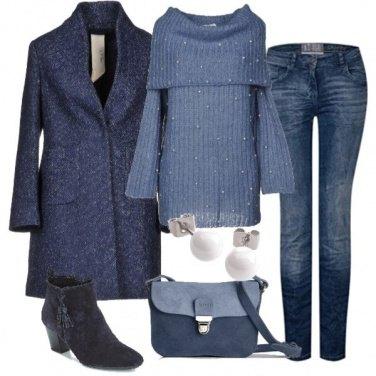 Outfit Nelle sfumature del Jeans