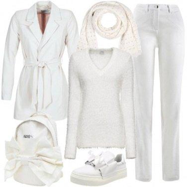 Outfit Bianco per tutti i giorni
