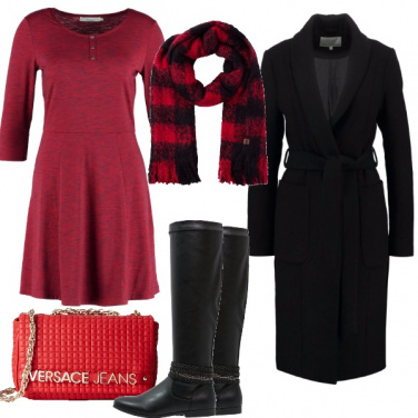 Outfit Quadri negli accessori