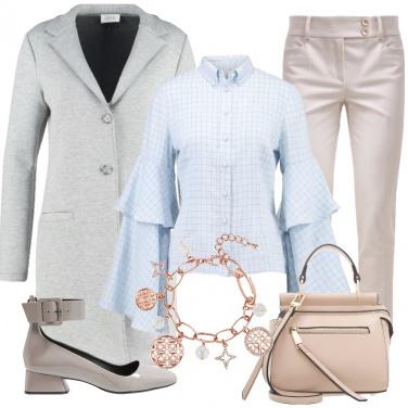 Outfit La camicia azzurra