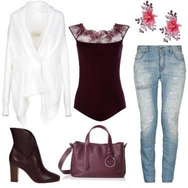 Outfit Colore...melanzana!