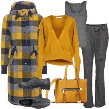 Outfit Sole nel grigio