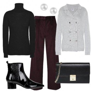 Outfit Minimalismo di classe
