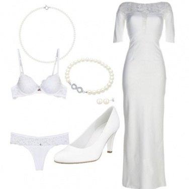 Outfit Una sposa classica