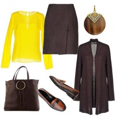 Outfit Mocassini bicolore