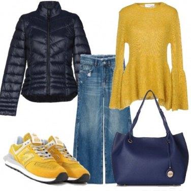 Outfit Un po\' di sole in autunno