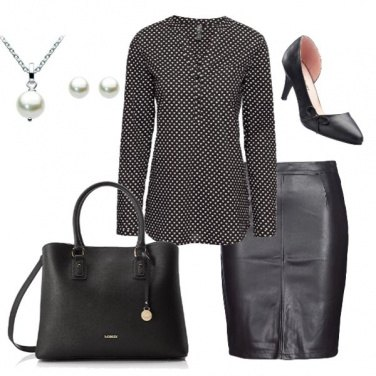 Outfit Black&White smart business
