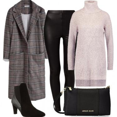 Outfit Il cappotto check