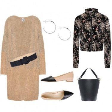 Outfit La borsa a barchetta