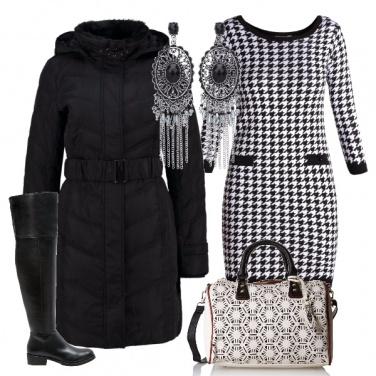 Outfit Bianco e nero