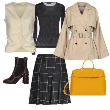 Outfit Marrone enero