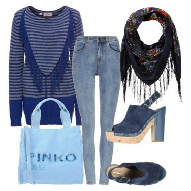 Outfit Frange in prima linea