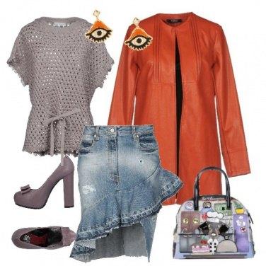 Outfit Maglia a rete
