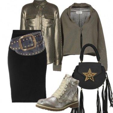 Outfit Urban dorato