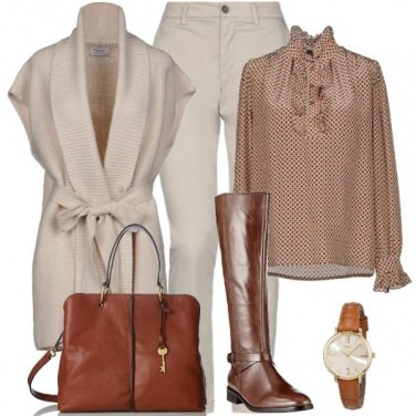 Outfit Cavallerizza chic