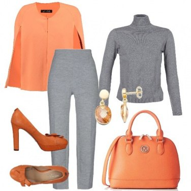 Outfit La cappa arancione