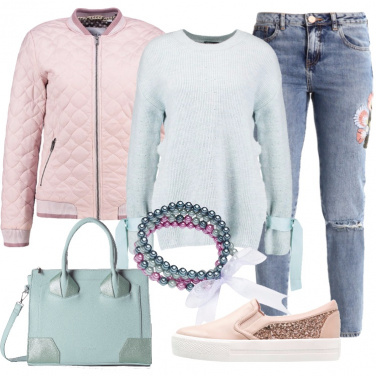 Outfit Con i colori della primavera