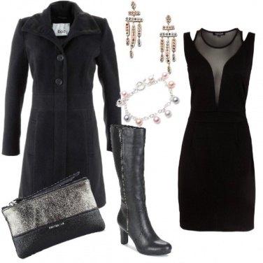Outfit Serata elegante low-cost