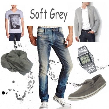 Outfit Soft Gray