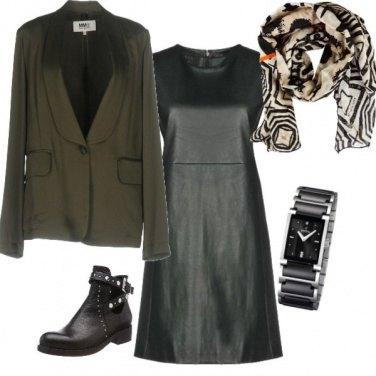 Outfit Pelle e bon ton
