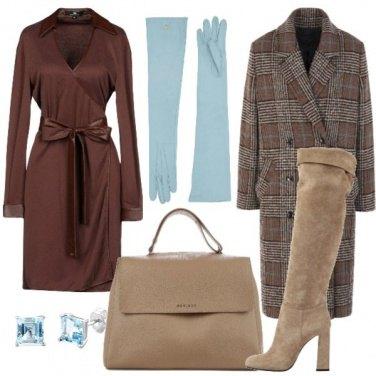 Outfit I guanti azzurri