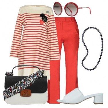 Outfit Apericena al mare