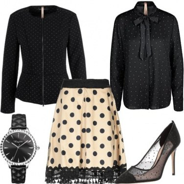 Outfit Con i pois