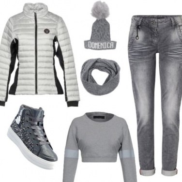 Outfit Grigio time
