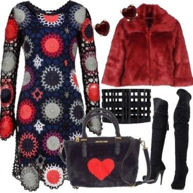 Outfit Un morbido cuore