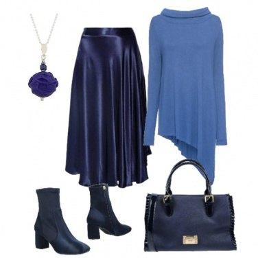Outfit Longuette blu