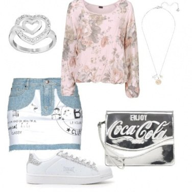 Outfit Delicatamente bella