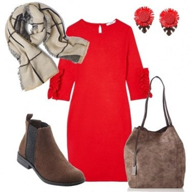 Outfit Rosso fuoco