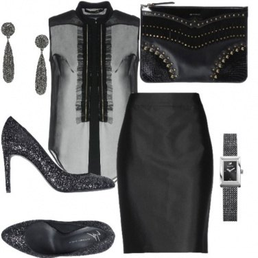 Outfit Sexy ed austera