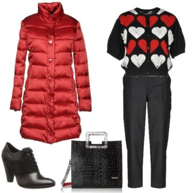 Outfit Red with passion