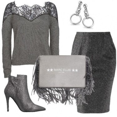 Outfit Lamé
