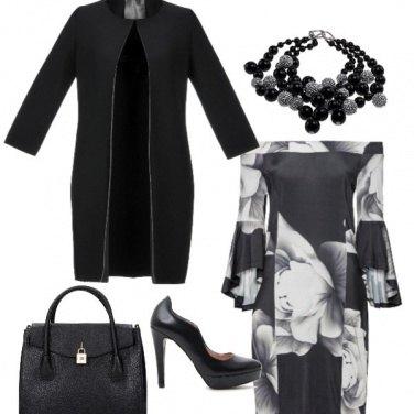 Outfit Black con un pò di white