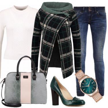Outfit Fanatica in verde