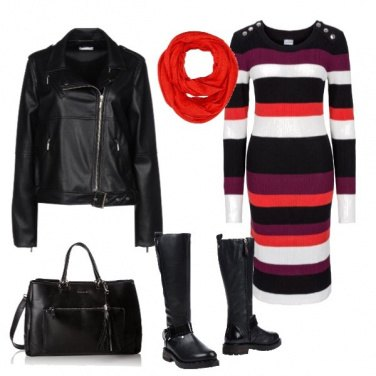 Outfit Urban stripes