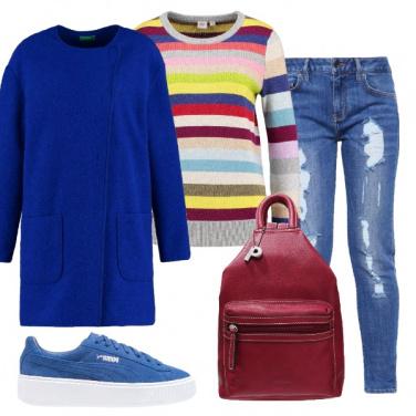 Outfit Piena di colore