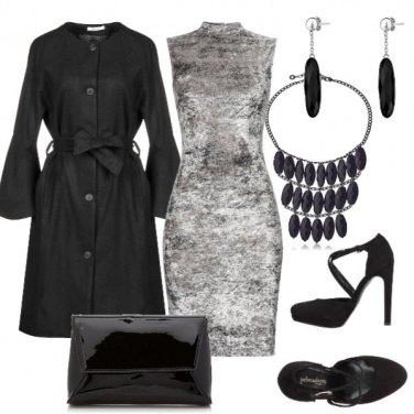 Outfit Velluto grigio