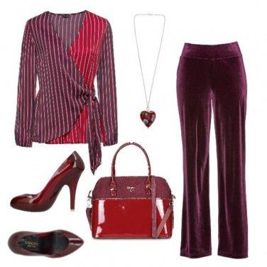 Outfit Alternanza di rosso