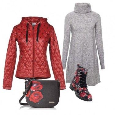 Outfit Con gli scarponcini di velluto