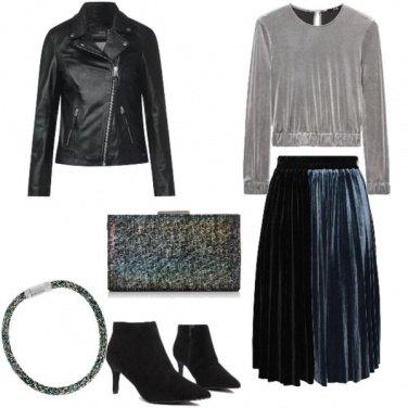Outfit Rock, serata rock
