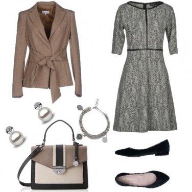 Outfit Chic, dettagli accessori di perle