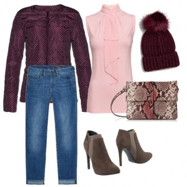 Outfit Low cost-Leo rouge