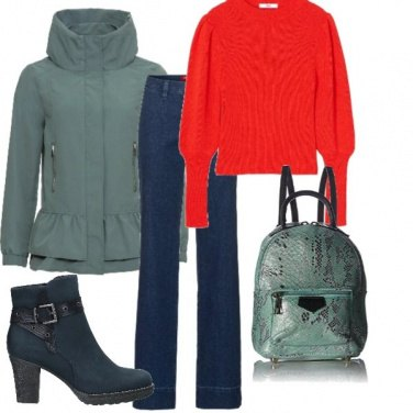 Outfit Low cost-total look-green
