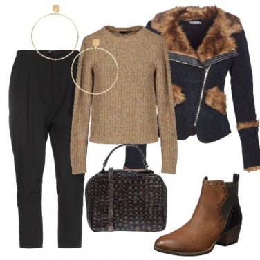 Outfit Un caldo e morbido chiodo