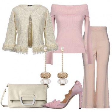 Outfit Incantevole rosa