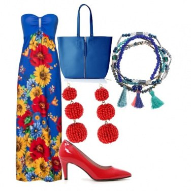 Outfit Flowers style
